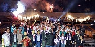 Afjet Afyonspor şampiyonluk kutlamaları