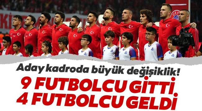 ANDORRA MAÇI ÖNCE MİLLİ TAKIMDA BÜYÜK REVİZYON!..