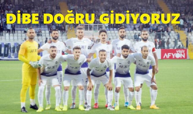 AFJET AFYONSPOR YİNE MAĞLUP: 0 - 2