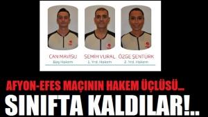 ANADOLU EFES MAÇININ HAKEMLERİ DİP YAPTI!..