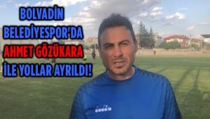 BOLVADİN BELEDİYESPOR'DA GÖZÜKARA İLE YOLLAR AYRILDI