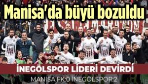 MANİSA, İLK YENİLGİSİNİ ALDI!.. 0-2