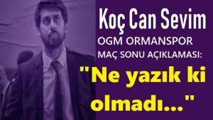 NE YAZIK Kİ OLMADI!..
