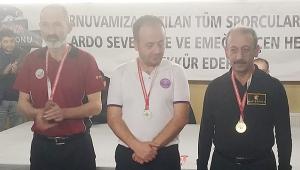3 BANT'TA ŞAMPİYON ENVER MUT