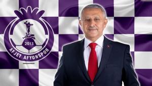 BAŞKAN ZEYBEK, AFJET AFYONSPOR'U KUTLADI