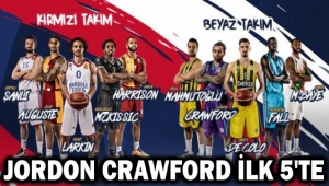 JORDON CRAWFORD, ALL-STAR'DA İLK 5'TE!..