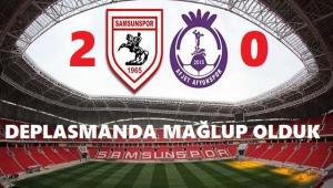 AFJET AFYONSPOR, DEPLASMANDA LİDER'E YENİLDİ:2-0