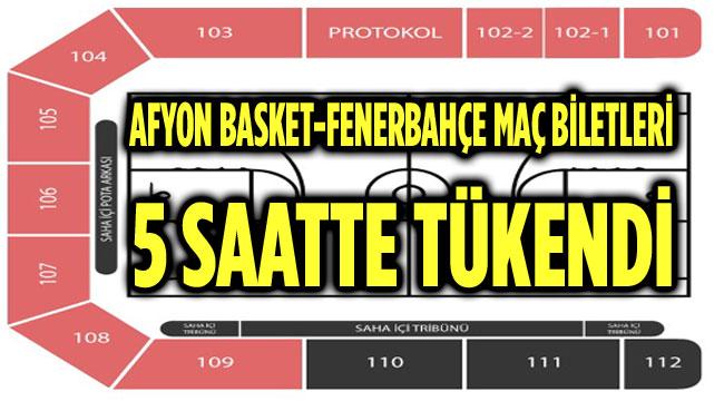 BİLETLER 5 SAATTE TÜKENDİ!..