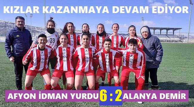 KIZLAR KAZANMAYA DEVAM EDİYOR!..