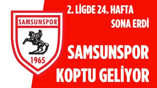 SAMSUNSPOR, GRUPTA KOPTU GİDİYOR!..