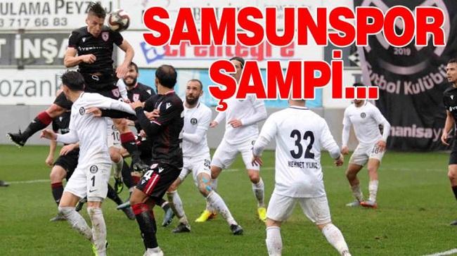 SAMSUNSPOR ŞAMPİYONLUĞA KOŞUYOR!..