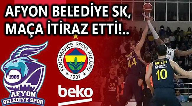 AFYON BELEDİYESPOR, KURAL HATASI İTİRAZI YAPTI!..