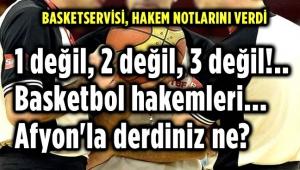 MAÇIN HAKEMLERİ EKİP OLARAK SINIFTA KALDI!..