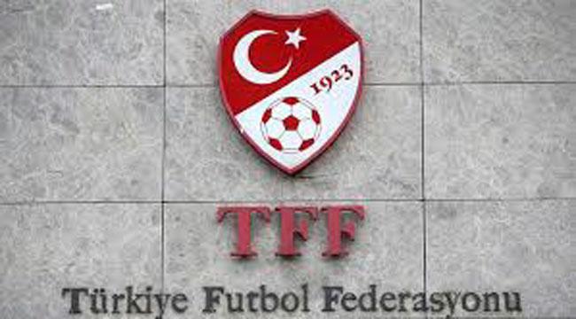TFF'DEN ÖNEMLİ KARARLAR