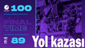YOL KAZASI: LH FETHİYE BLD: 100 HDI AFYON BLD: 89