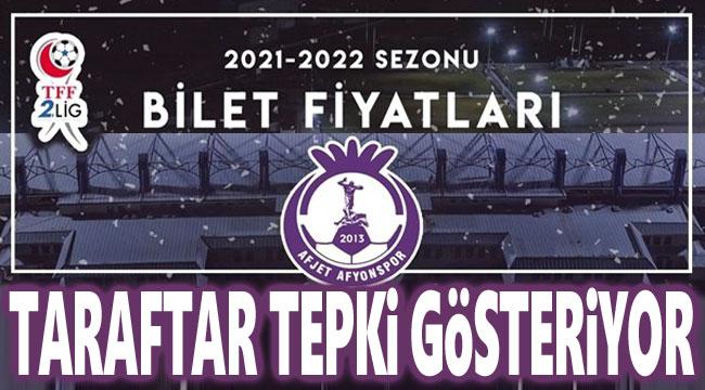 AFJET AFYONSPOR, BİLET FİYATLARINI AÇIKLADI