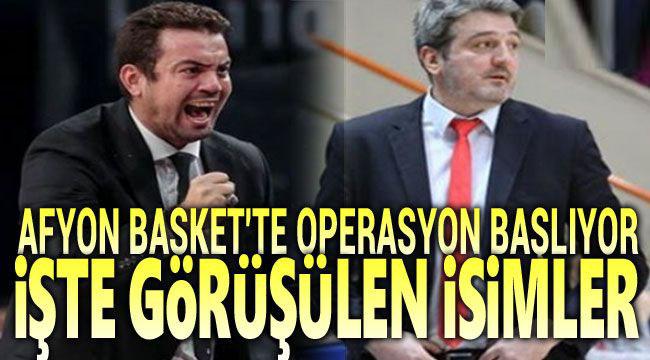 AFYON BELEDİYESPOR BASKET'TE HAREKET BAŞLIYOR!..