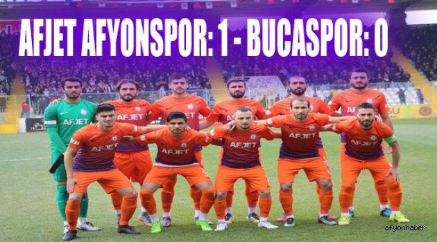 AFJET AFYONSPOR:1 BUCASPOR:0