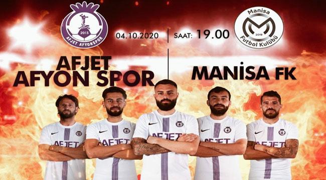 AFJET AFYONSPOR, MANİSA FK İLE KARŞILAŞACAK