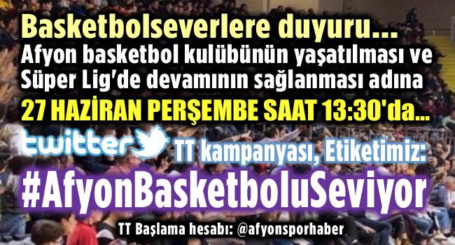 AFYONLU BASKETBOLSEVERLER VAZGEÇMİYOR!..
