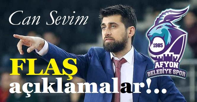 KOÇ CAN SEVİM'DEN FLAŞ AÇIKLAMALAR!..