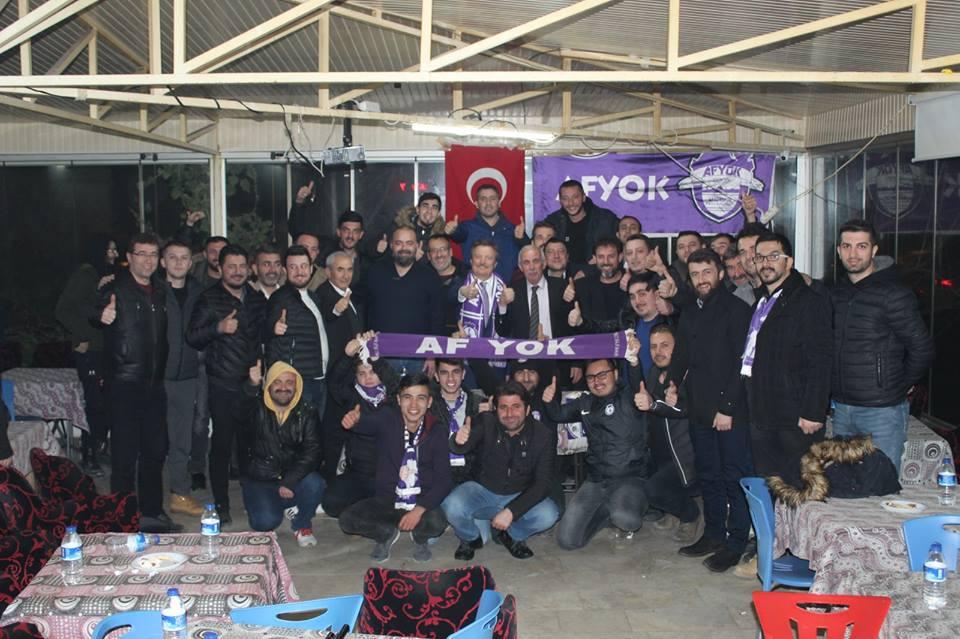 AF YOK'TAN MAHMUT KOÇAK'A SEVGİ SELİ!..