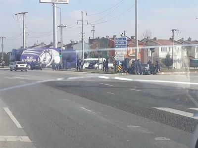 AFJET AFYONSPOR KAFİLESİ, KAZAZEDELERE YARDIMCI OLDU