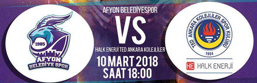 AFYON BELEDİYESPOR'UN RAKİBİ TED KOLEJİ