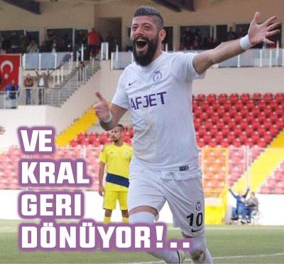 FATİH ŞERİFOĞLU SAHALARA GERİ DÖNÜYOR...