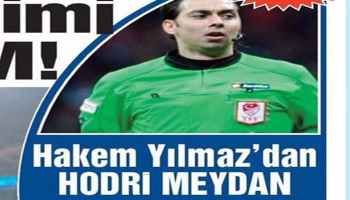 İSTİFA EDEN HAKEM ABDULLAH YILMAZ'DAN HODRİ MEYDAN!..
