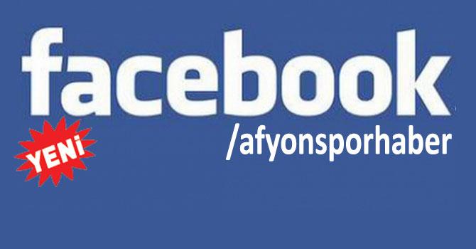 AFYONSPORHABER'İ FACEBOOK'TAN TAKİP EDİN