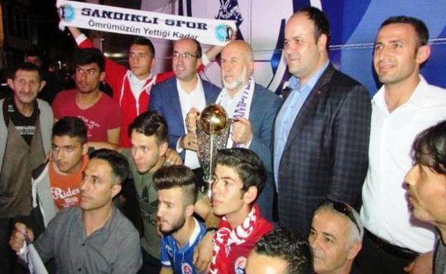 SANDIKLI'DA AFJET AFYONSPOR COŞKUSU