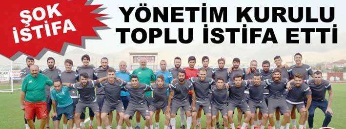 SANDIKLISPOR'DA YÖNETİM KRİZİ DEVAM EDİYOR!..
