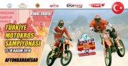 TÜRKİYE MOTOKROS ŞAMPİYONASININ SON AYAĞI 17-18 KASIM'DA AFYONKARAHİSAR'DA YAPILACAK