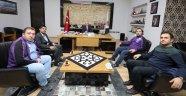 AFYONSPOR TARAFTARLAR DERNEĞİNDEN BAŞKAN ÇOBAN'A ZİYARET