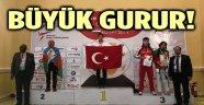 TEBRİKLER ŞAMPİYON MERYEM BETÜL ÇAVDAR!..