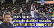 AFYON BELEDİYESPOR, AFYON İÇİN BÜYÜK FIRSAT!..