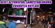 ŞEHİRDE ŞAMPİYONLUK COŞKUSU!..