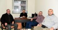 BESİKTAŞLILAR'DAN BELEDİYESPOR'A ZİYARET