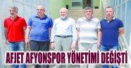 AFJET AFYONSPOR YÖNETİMİ DEĞİŞTİ