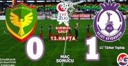 Amed Sportif:0 Afjet Afyonspor:1