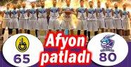 AFYON BELEDİYESPOR PATLADI, SERİYİ 1-1'E GETİRDİ