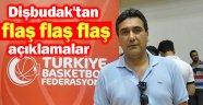 AFYON BELEDİYE SPOR BASKETBOL KULÜBÜ BAŞKANI TAMER DİŞBUDAK'TAN FLAŞ AÇIKLAMALAR
