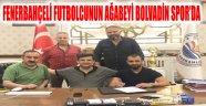 FENERBAHÇELİ ALPER POTUK'UN AĞABEYİ BOLVADİN SPOR'DA