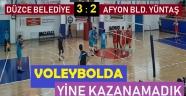 AFYON BELEDİYE YÜNTAŞ, YİNE KAZANAMADI!.. 3-2