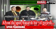 AFYON TAKIMLARI EN ÜST LİGLERE LAYIK!..