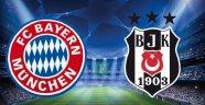Beşiktaş'ın Şampiyonlar Ligi'nde rakibi Bayern Münih oldu