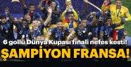 FRANSA, 2018 DÜNYA ŞAMPİYONU OLDU