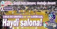 HAYDİ SALONA!..