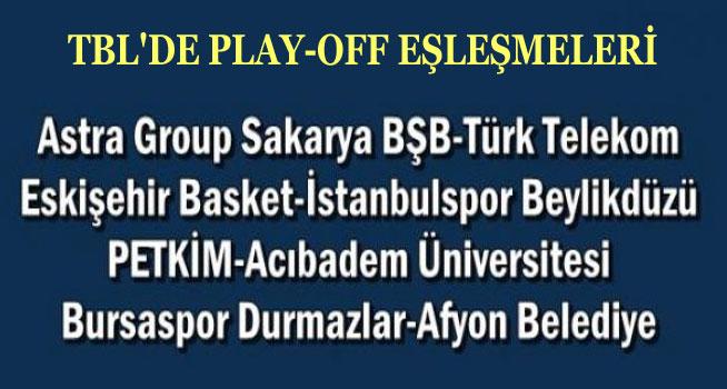 TBL PLAY-OFF'TA AFYON BELEDİYESPOR'UN RAKİBİ BURSASPOR DURMAZLAR!..